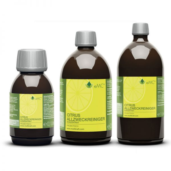 eMC Allzweckreiniger Citrus 100ml, 0,5l, 1l
