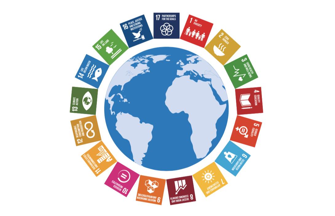 SDG's Weltkugel